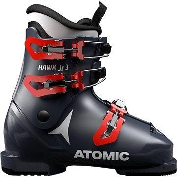 Černé dětské lyžařské boty Atomic - velikost vnitřní stélky 23 cm