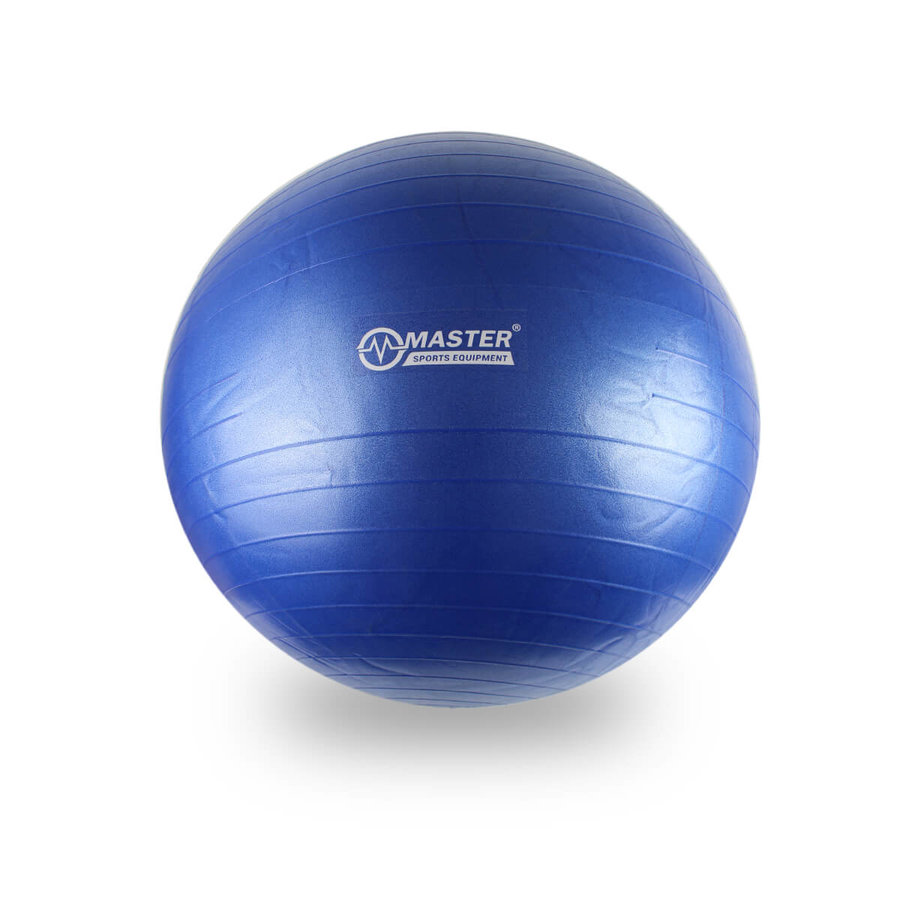 Šedý gymnastický míč Super Ball, Master Pool - průměr 85 cm
