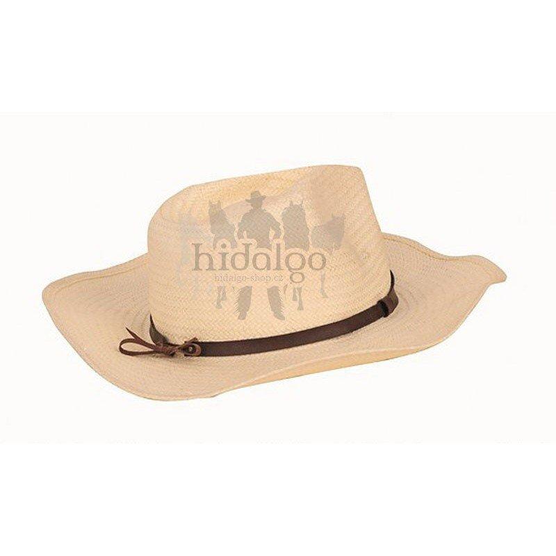 Béžový westernový unisex jezdecký klobouk HKM