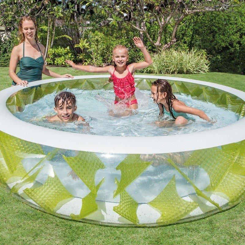 Dětský nafukovací kruhový bazén INTEX - průměr 229 cm a výška 56 cm