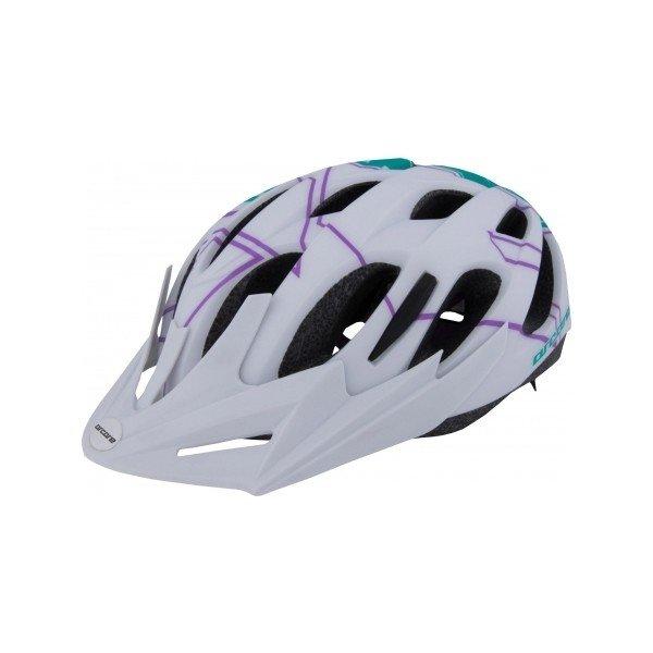 Bílá cyklistická helma Arcore