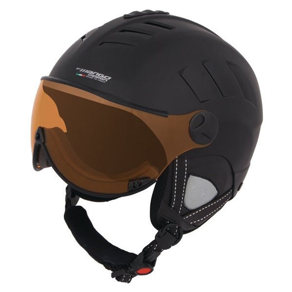 Černá lyžařská helma Mango