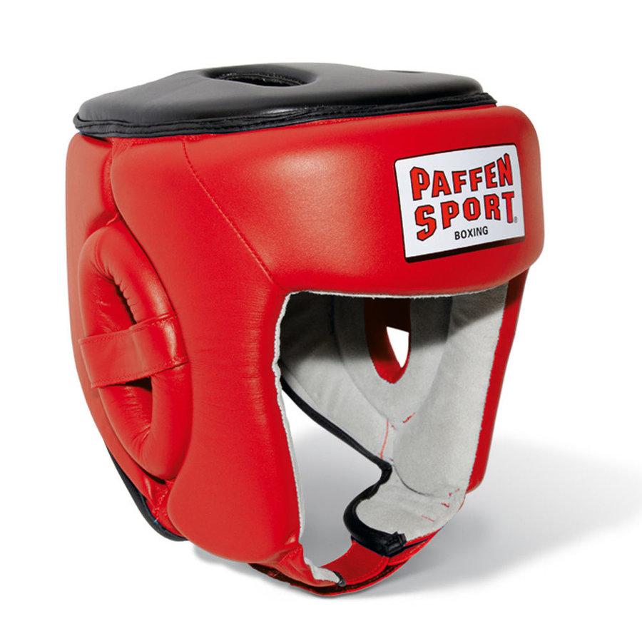 Červená boxerská přilba Paffen Sport - velikost L-XL