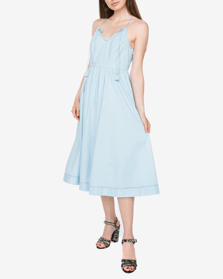 Modré dámské šaty Juicy Couture - velikost S