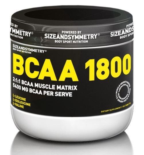 BCAA SizeAndSymmetry - 150 ks