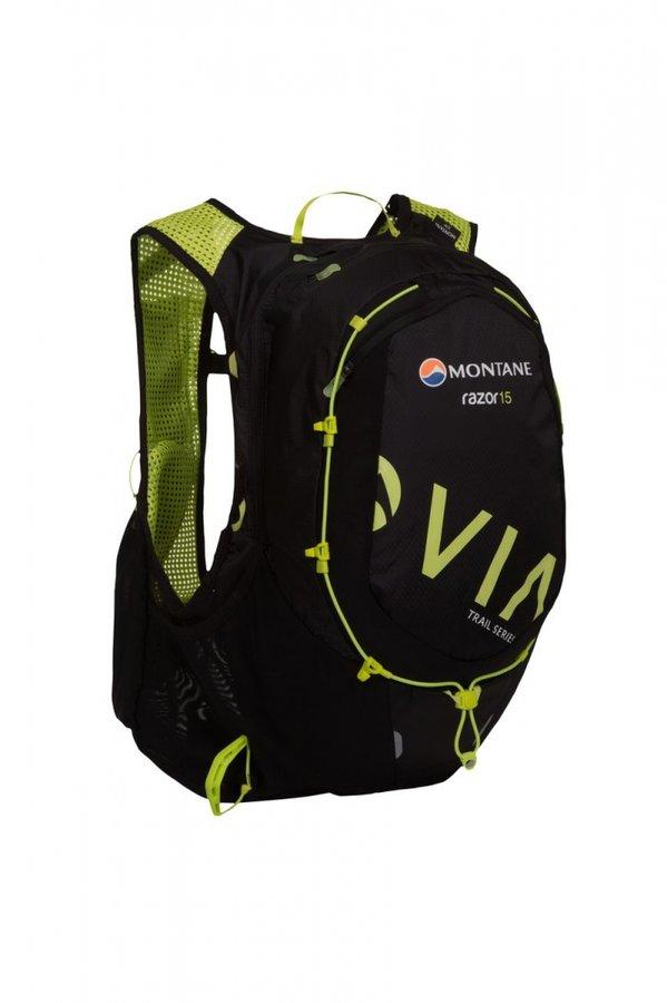 Černý běžecký batoh Montane - objem 15 l