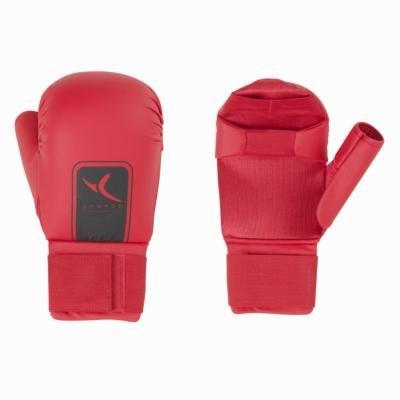 Červená karate rukavice Domyos