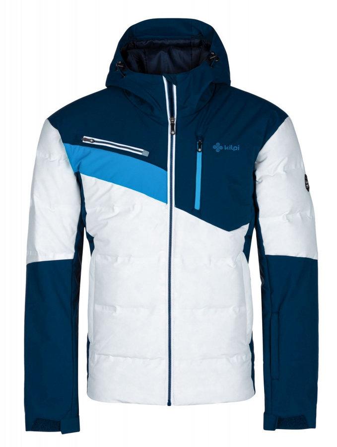 Bílo-modrá pánská bunda Kilpi