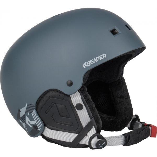 Šedá helma na snowboard Reaper