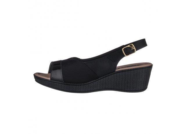 Černé sandály PICCADILLY