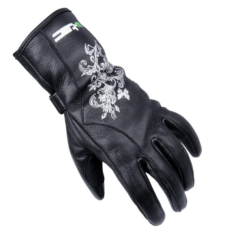 Kožené motorkářské rukavice Natali, W-TEC