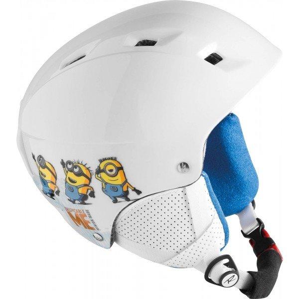Bílá pánská lyžařská helma Rossignol