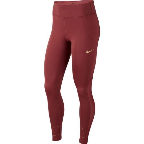 Červené dámské legíny Nike