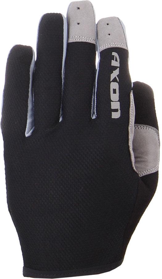 Černé zimní dámské cyklistické rukavice Axon