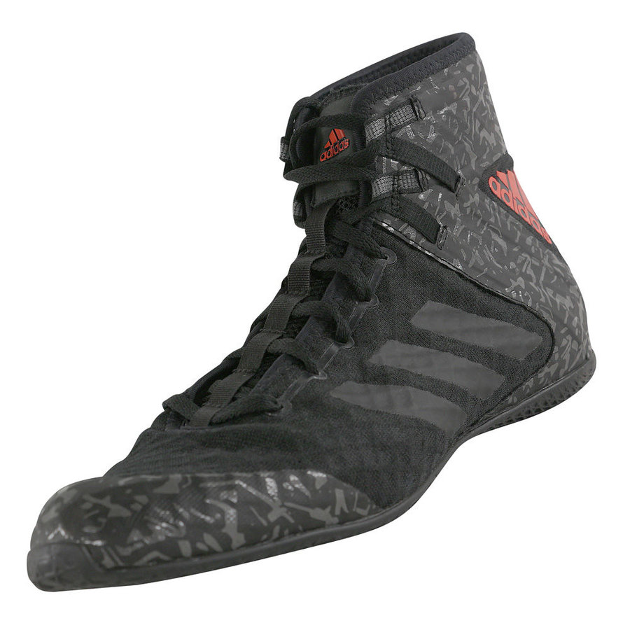 Černé boxerské boty Speedex 16.1, Adidas - velikost 42,5 EU