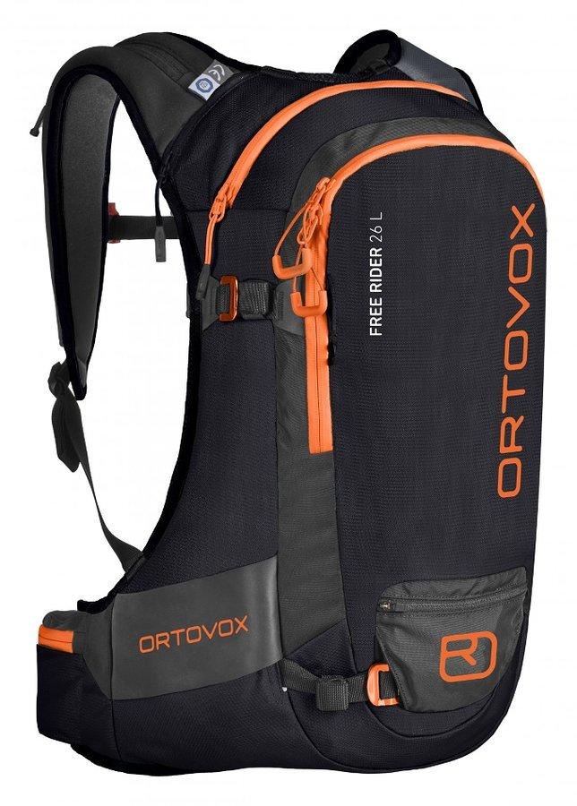 Černý skialpový batoh Ortovox - objem 26 l