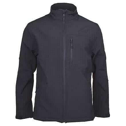Černá softshellová pánská bunda Lambeste - velikost M