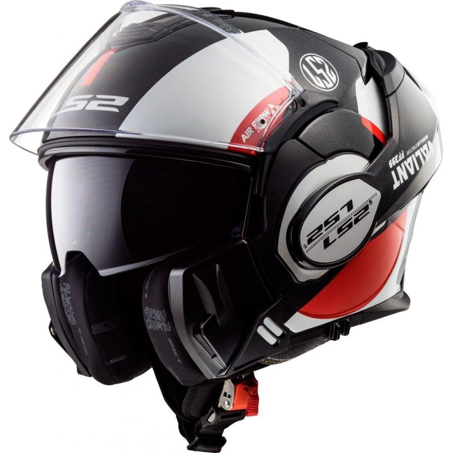Helma na motorku FF399 Valiant, LS2 - velikost 61-62 cm