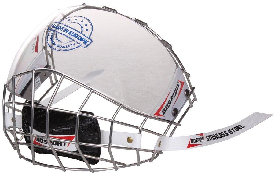 Plexi na hokejovou helmu - Bosport mřížka Uniplexi Convex junior