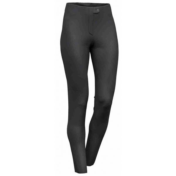 Černé softshellové zimní dámské kalhoty Colmar - velikost 40