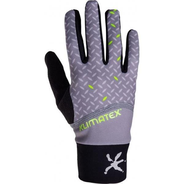 Černé pánské rukavice na běžky Klimatex