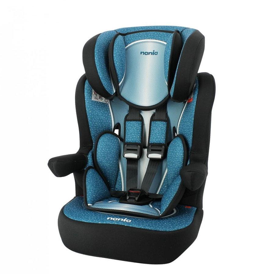 Modrá dětská autosedačka I-Max, Nania - nosnost 36 kg