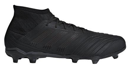 Černé kopačky lisovky Predator 18.2 FG, Adidas