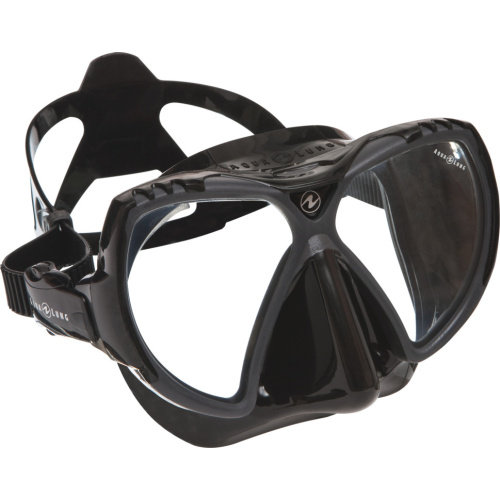 Šedá potápěčská maska MISSION black, Aqualung