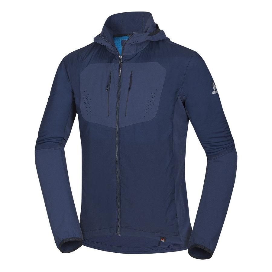 Modrá pánská bunda na běžky NorthFinder - velikost XXL