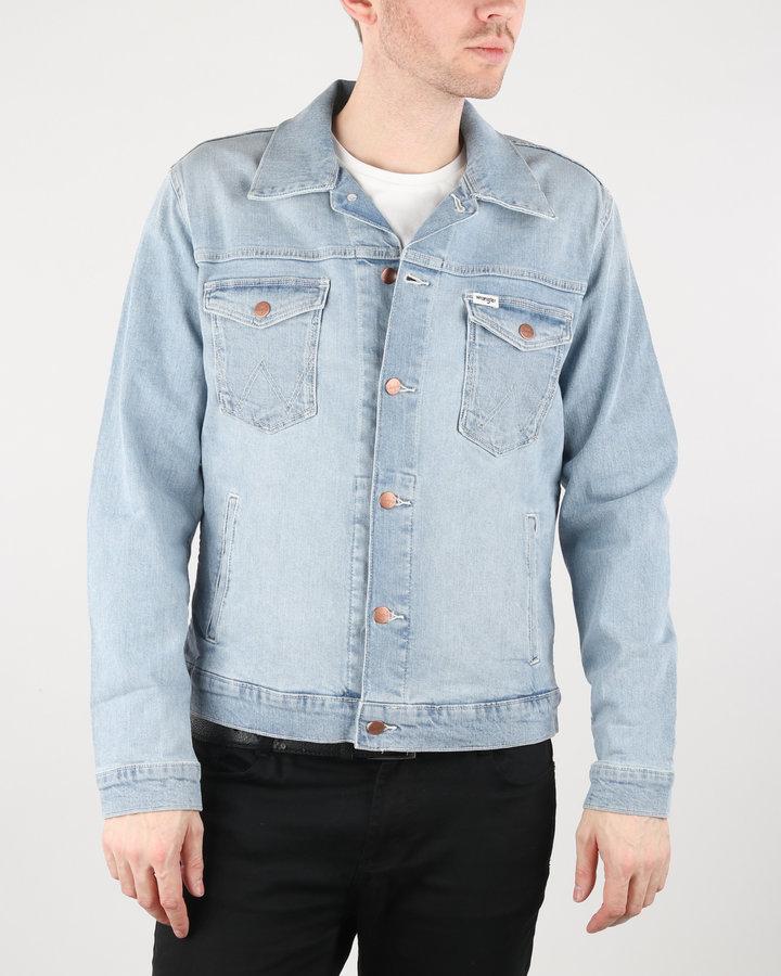 Modrá pánská bunda Wrangler