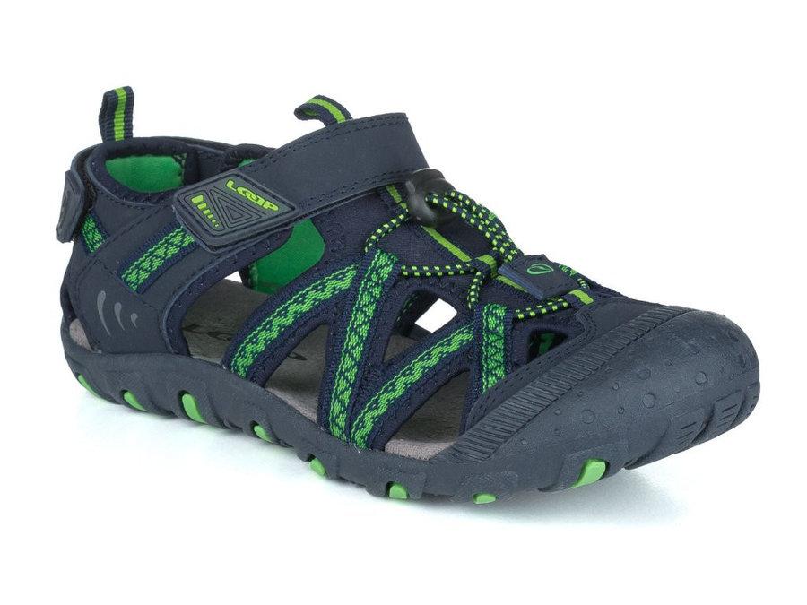 Modré dětské sandály Loap