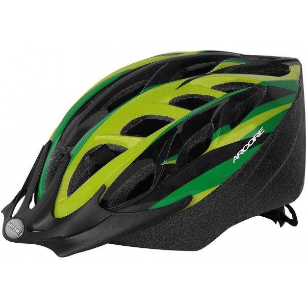 Zelená pánská cyklistická helma Arcore - velikost 50-54 cm