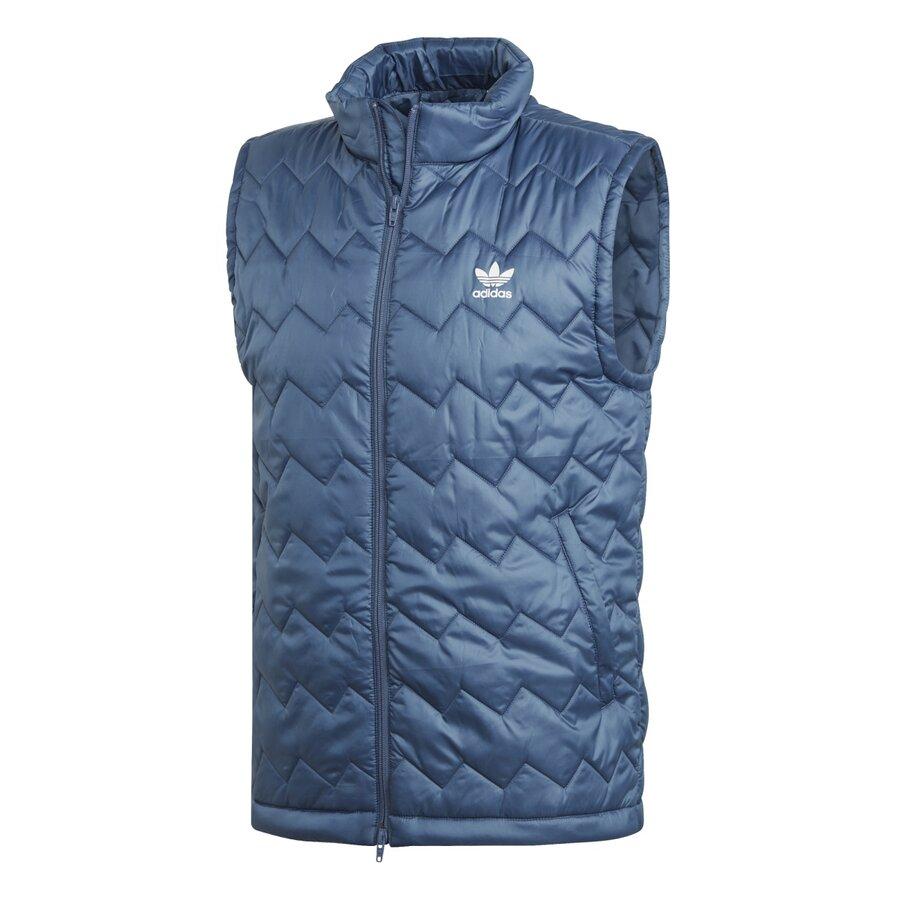 Modrá pánská vesta Adidas - velikost M