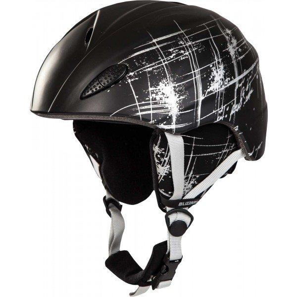 Černá lyžařská helma Blizzard - velikost 54-58 cm