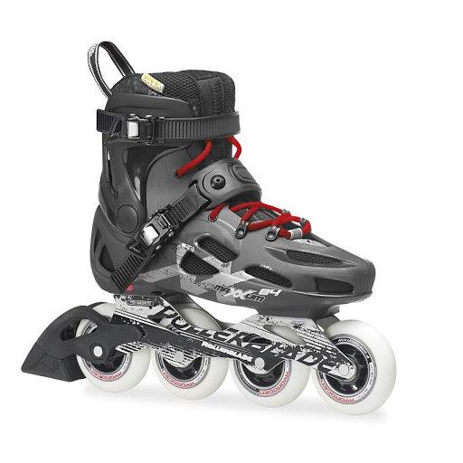 Černé kolečkové brusle Rollerblade - velikost 42,5 EU