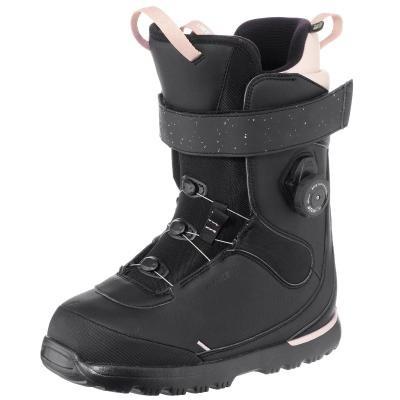 Černé dámské boty na snowboard Wed'ze - velikost 42 EU