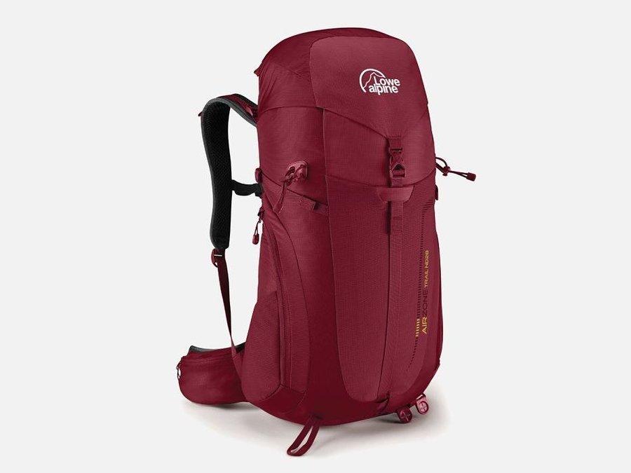 Červený turistický batoh Lowe Alpine - objem 28 l