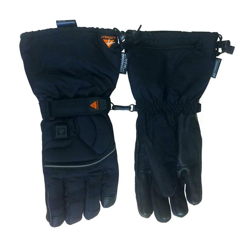 Černé lyžařské rukavice Alpenheat