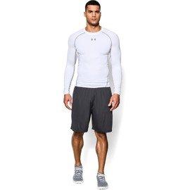 Bílé pánské tričko s dlouhým rukávem Under Armour - velikost XL