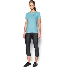 Modré dámské tričko s krátkým rukávem Under Armour