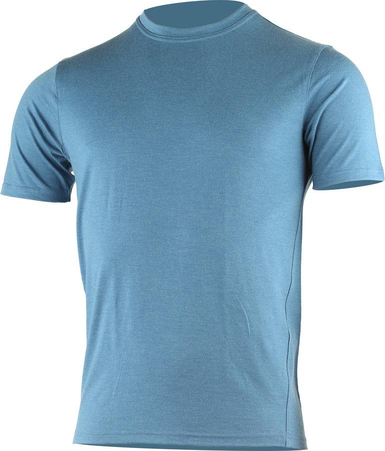 Modré pánské tričko s krátkým rukávem Lasting