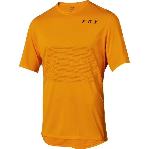 Oranžový pánský cyklistický dres Fox