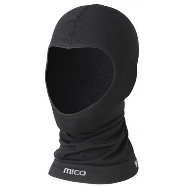 Černá lyžařská kukla Mico