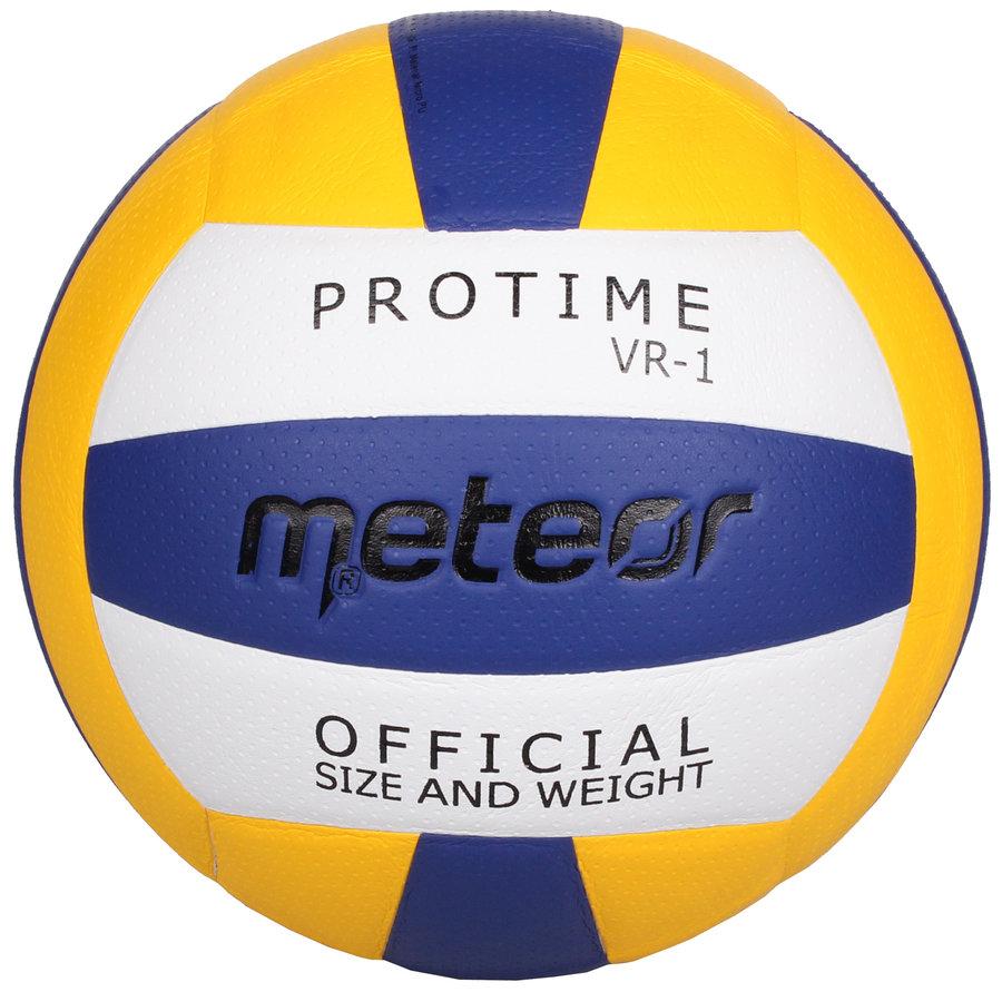 Různobarevný volejbalový míč VR-1, Meteor - velikost 5