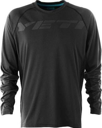 Černý pánský cyklistický dres YETI