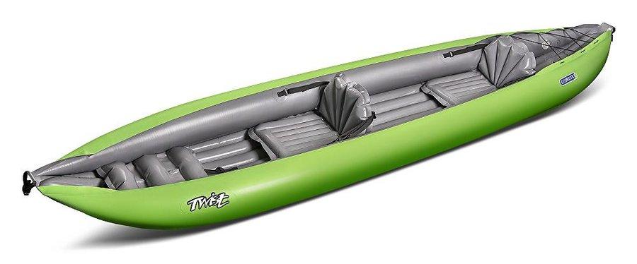 Zelený nafukovací kajak pro 2 osoby Twist, Gumotex