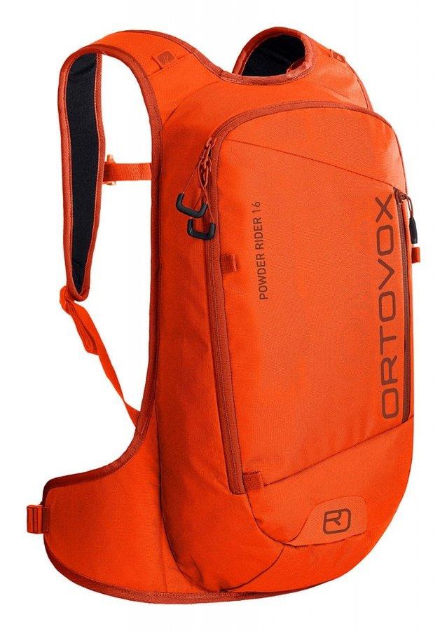 Oranžový skialpový batoh Ortovox - objem 16 l