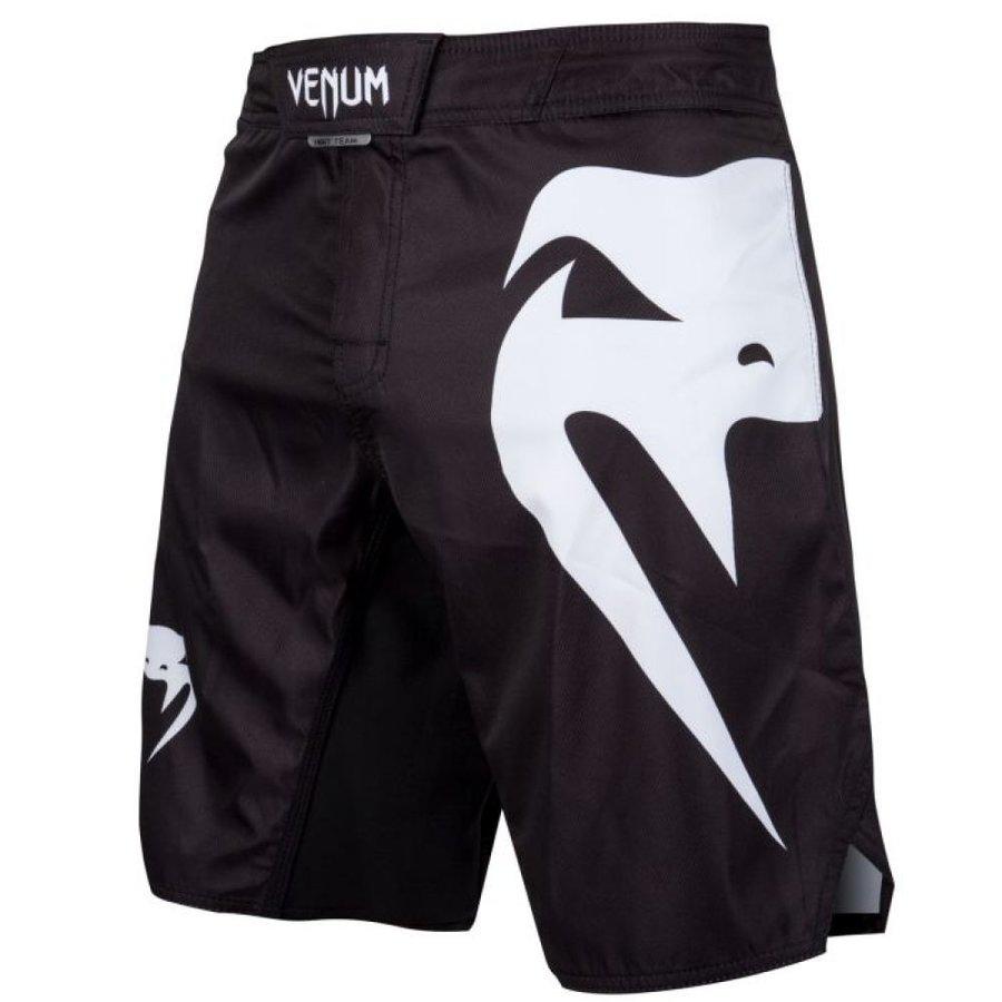 Bílo-černé MMA kraťasy Venum - velikost XL