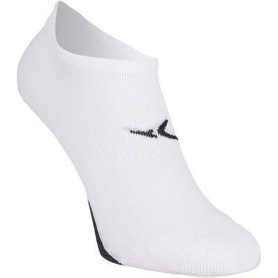 Bílé kotníkové unisex ponožky Domyos