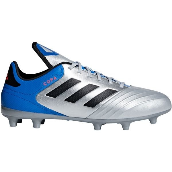 Modro-stříbrné pánské kopačky Adidas